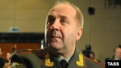 Russia -- Lieutenant General Igor Sergun, head of Russian Defence Ministry's Main Intelligence Department, better known under its Russian acronym of GRU, May 3, 2012
