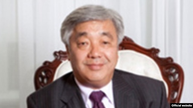 Kazakh Foreign Minister Erlan Idrissov (file photo)