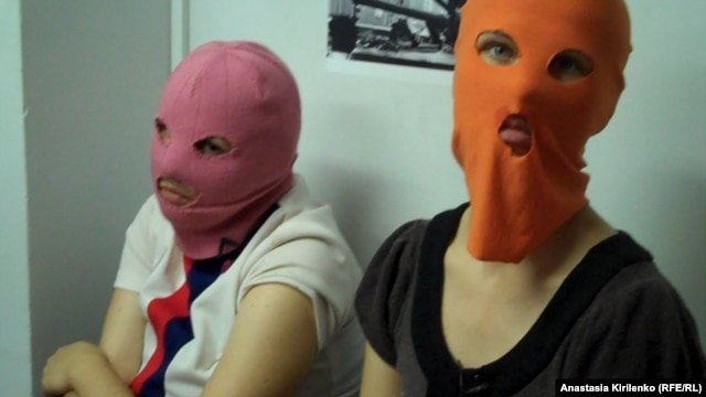 It's not difficult to envision a line of official Pussy Riot balaclavas being sold to the public.