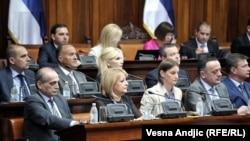 Predloženi ministri buduće vlade slušaju ekspoze