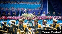 Иранда Армия күнүнүн белгилениши. Тегеран, 18-апрель, 2018-жыл.