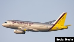 Самолет Germanwings.