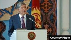 Президент Алмазбек Атамбаев. 11.3.2015.