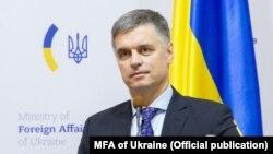Міністар замежных справаў Украіны Вадзім Прыстайка