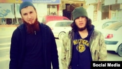 Chechen militants Salakhuddin Shishani and Musa Abu Yusuf Shishani -- the self-proclaimed saviors of Kobani.