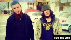 Chechen militants Salakhuddin Shishani and Musa Abu Yusuf Shishani -- the self-proclaimed saviors of Kobani.