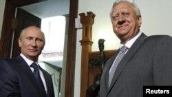 Уладзімер Пуцін і Міхаіл Мясьніковіч