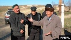Репатрианты из Каракалпакстана в селе Жанакурылыс Алматинской области. Ноябрь 2008 года. Иллюстративное фото.