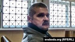 Минск қалалық сотында отырған Леонид Смовж. 11 қараша 2013 жыл.