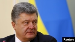 Петр Порошенко, президент Украины. Астана, 9 октября 2015 года.