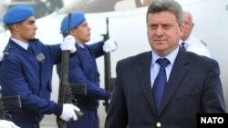 Македонскиот претседател Ѓорѓи Иванов