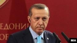 Реджеп Тайиб Эрдоган, Скопье (Македония), 29 сентября 2011