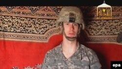Tolibon hakarati 2009 yil 25 dekabrda e'lon qilgan serjant Bou Bergdalning fotosurati.