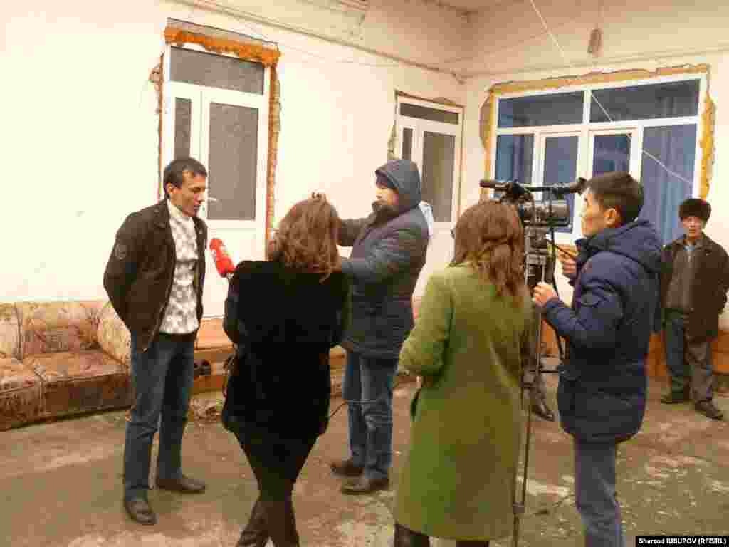 Kyrgyzstan - Yahya Mashrapova suspected of terrorism by the Turkish media gives interview to Kyrgyz journalists