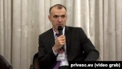 Serghei Neicovcen, Centrul Contact, Chișinău (foto arhivă)