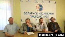 Мікалай Статкевіч, Уладзімер Някляеў, Генадзь Фядыніч, Вячаслаў Сіўчык