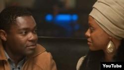 """""""Nina"""" filmində Clifton Henderson və Nina Simone, 2016-cı il."""