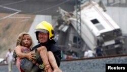 Željeznička nesreća u Španjolskoj, najmanje 78 poginulih