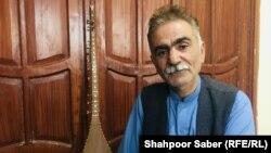 نعمتالله هاشمی، رییس اتحادیه هنرمندان موسیقی هرات