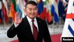 Халтмаагийн Баттулга, Моңғолия президенті.
