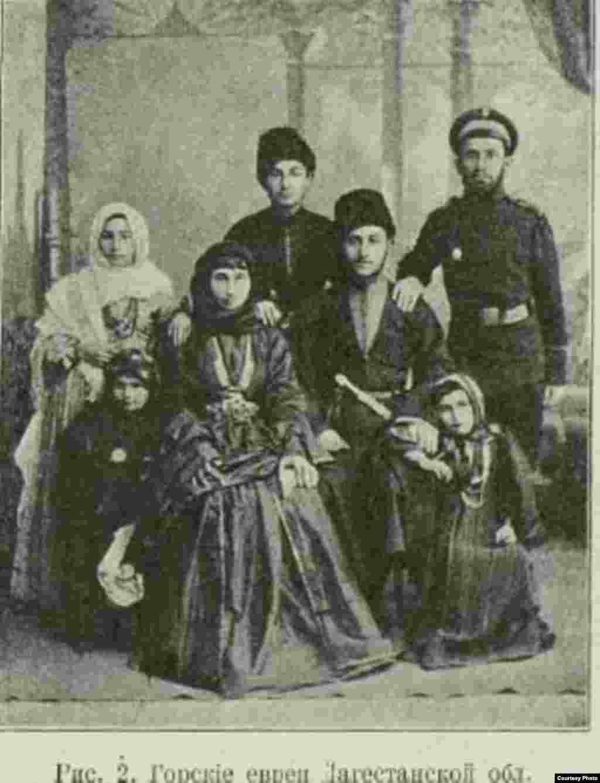 Семьи горских евреев, как правило, были большими, как и у горцев Северного Кавказа