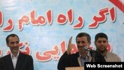 محمود احمدی نژاد که چهار سال پیش برای نامزدی اسفندیار رحیم مشایی در تلاش بود اینک برای نامزدی حمید بقایی یار دیگر خود تلاش میکند
