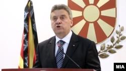 Претседателот на Република Македонија Ѓорге Иванов