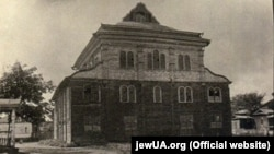 Дерев'яна синагога в Чорнобилі до 1928 року. Зруйнована більшовиками