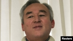 Председатель правления Союза журналистов Казахстана и глава Национального пресс-клуба Сейтказы Матаев.