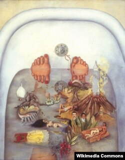 Фрида Кало. «Суу мага эмне берет?» 1938-жыл.