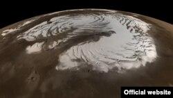 Ледавік на паверхні Марса