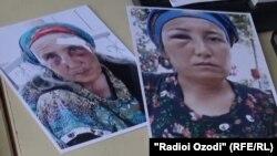 Фото таджикских женщин - жертв домашнего насилия