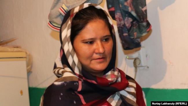 Хабиба Ибрагим, этническая казашка из Афганистана, ныне проживающая в Казахстане