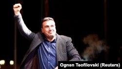 Лидерот на СДСМ и прмиер на македонија Зоран Заев, Скопје, 16.10.2017.