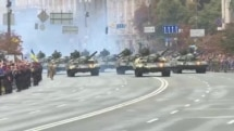 Ukraine Makes Show Of Force To Mark 25 Years Of Independence (Clean)