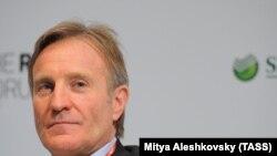 Архива: Извршниот директор на Новатек, Марк Гетвеј присуствува на Форумот Русија во 2012 година во Москва. 3 февруари 2012 година.