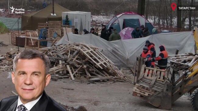 Протесты в Казани. Отставка Минниханова?