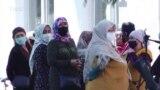 Ош: Өзбекстанга өтө албаган келиндер