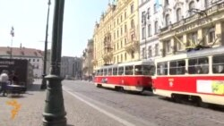 Prague Activists Protest Azerbaijan Abuses