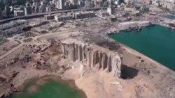 Відео з дрона демонструє обсяги руйнувань від вибуху в Бейруті