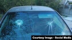 Фото разбитого авто