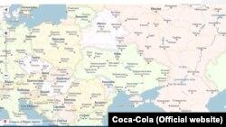 Карта с российским Крымом (иллюстративное фото)