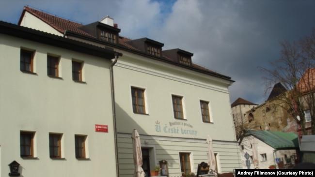 В этой пивной в деревне Липницы над Сазавой Гашек написал большую часть своей книги о Швейке