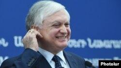 Глава МИД Армении Эдвард Налбандян, Ереван, 8 ноября 2016 г.