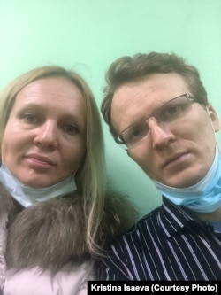 Кристина Исаева и Кирилл Гребенщиков