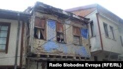 Стара куќа во Охрид.