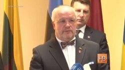 """Министр обороны Литвы: """"Мы будем помогать Украине в различных сферах"""""""