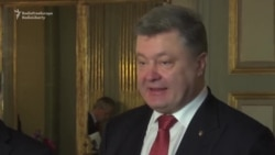 Video: Poroshenko Denounces Russian 'Aggression' In Ukraine