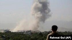 آرشیف/ تصویر از انفجار امروز در کابل