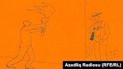 Karikatura Rəşid Şerifə məxsusdur